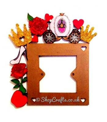 Childrens Princess Themed Light Switch Surround