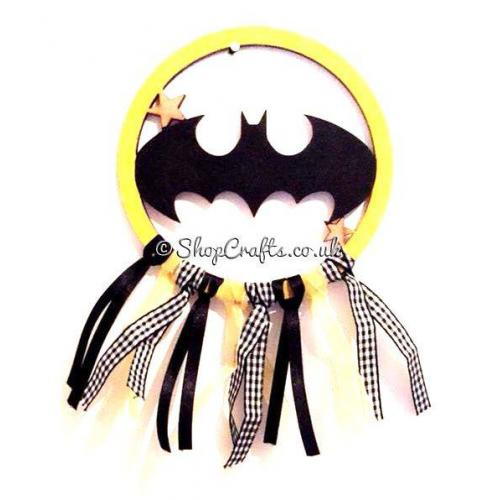 Batman Childrens Mini Dream Catcher