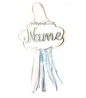 Personalised Cloud Mini Name Dream Catcher