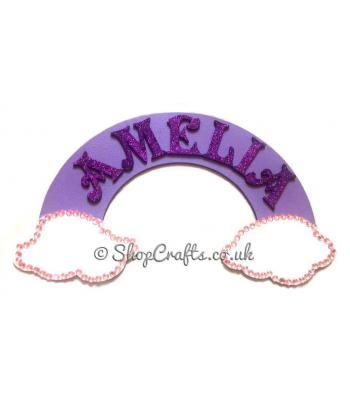 3D Personalised Children's Name Rainbow