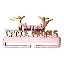 Personalised Name Dance Medal Holder