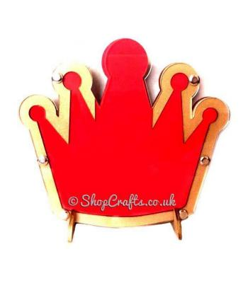 Childrens Crown Reward Chart Drop Box