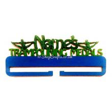 Personalised Name Trampolining Medal Holder