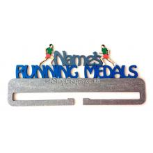 Personalised large running Medals Holder