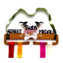Personalised Street Dance Medal Holder