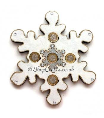 Snowflake  £1 Coin Holder