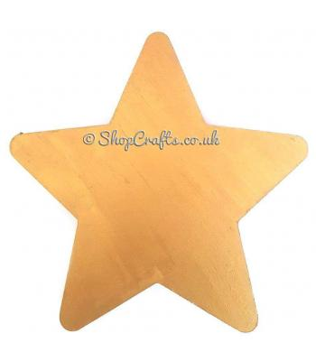 Freestanding 18mm thick Star Shape