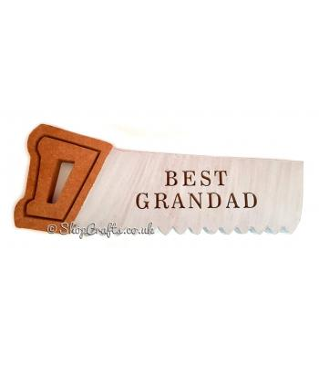 Best 'Dad, Grandad,Stepdad' freestanding 18mm thick Saw