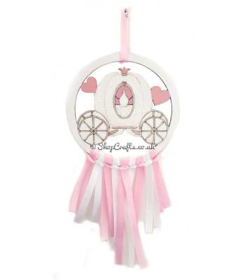 Mini Princess Carriage Dream Catcher