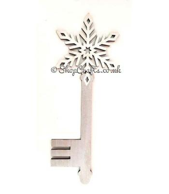 Snowflake Christmas Magic Key