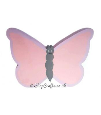 Freestanding 18mm thick Butterfly Shape
