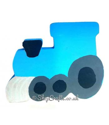 Freestanding 18mm thick Train shape