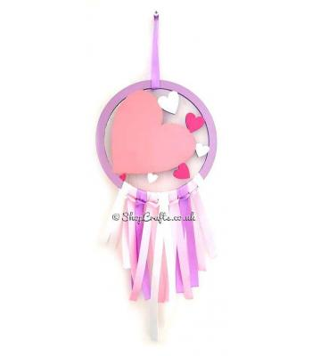 Mini Heart Dream Catcher